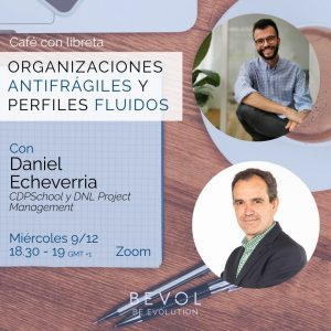 Cafe con libreta con Daniel Echevería